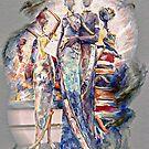 Four Colorful Ladies by suzannem73