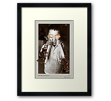 untitled [walrus child] Framed Print