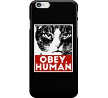 OBEY, HUMAN iPhone Case/Skin