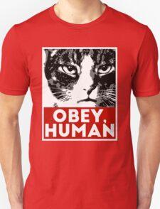 OBEY, HUMAN Unisex T-Shirt