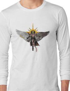 Warhammer 40k Living Saint Vector Long Sleeve T-Shirt