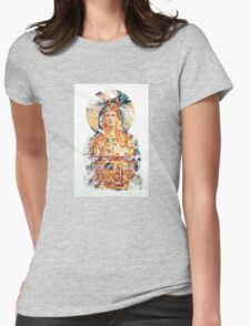 Golden Madonna Womens Fitted T-Shirt