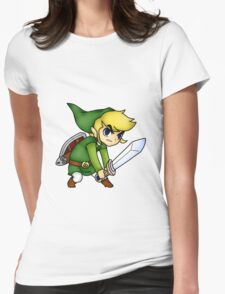 zelda Womens Fitted T-Shirt