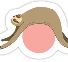 Sloth Pilates Sticker