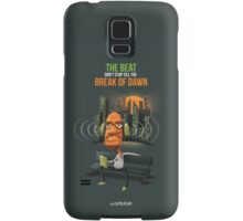 The beat don't stop till the break of dawn Samsung Galaxy Case/Skin