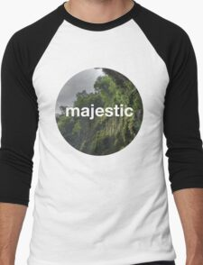 Unofficial Majestic Casual design 2 Men's Baseball ¾ T-Shirt