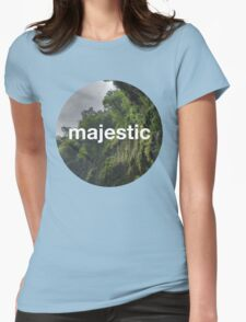 Unofficial Majestic Casual design 2 Womens Fitted T-Shirt