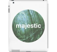Unofficial Majestic Casual design bamboo iPad Case/Skin