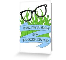 Tina Quotes Greeting Card