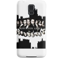 Downton Abbey Color Ink Drawing  Samsung Galaxy Case/Skin