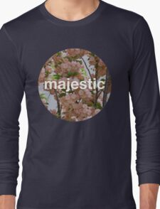 Majestic casual unofficial design Long Sleeve T-Shirt