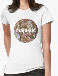 Majestic casual unofficial design Womens Fitted T-Shirt