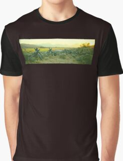 Wyoming Dusk Graphic T-Shirt