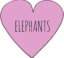 Elephant Love by Rob Price