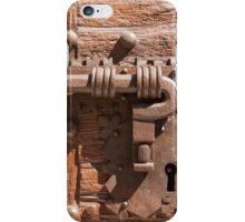 Locked and Bolted iPhone Case/Skin