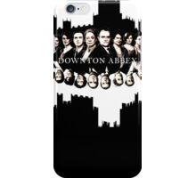 Downton Abbey Color Ink Drawing Dark Version iPhone Case/Skin