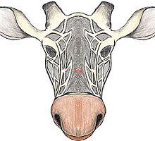 Giraffe Sketch by LittleSpud