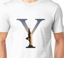 Y for Yoga Unisex T-Shirt