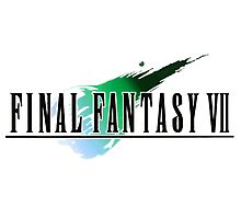 FF7 Logo Highest Quality Photographic Print