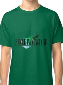 FF7 Logo Highest Quality Classic T-Shirt