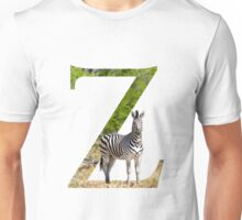 Z for Zebra Unisex T-Shirt