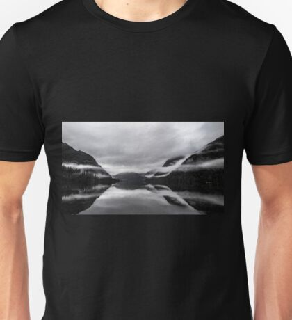 Mist on Mirror Lake Unisex T-Shirt