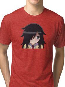 Watamote - Tomoko Tri-blend T-Shirt