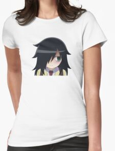Watamote - Tomoko Womens Fitted T-Shirt