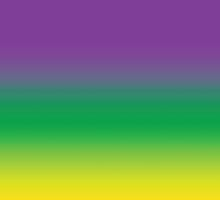 Purple Green and Gold (Mardi Gras) by StudioBlack