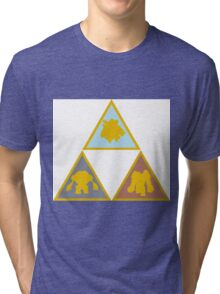 Pokemon Triforce - The Golem Trio Tri-blend T-Shirt