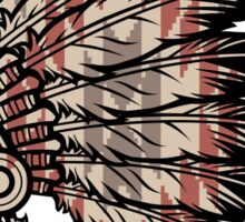 Native American Headdress Sticker