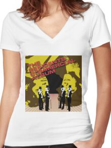The Residents - The Commercial Album Women's Fitted V-Neck T-Shirt