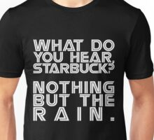 Nothing but the rain [white] Unisex T-Shirt