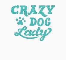Crazy Dog Lady Men's Baseball ¾ T-Shirt
