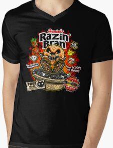 Razin' Bran Mens V-Neck T-Shirt