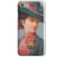 Ancient figure iPhone Case/Skin