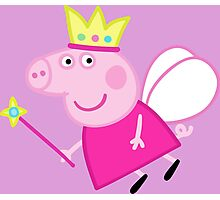 Peppa pig fairy Photographic Print