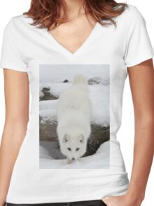 Fixated Women's Fitted V-Neck T-Shirt