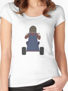 The Shining - Danny Big Wheel Women's Fitted Scoop T-Shirt