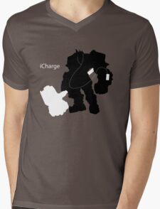 iCharge Mens V-Neck T-Shirt
