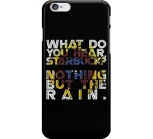 Nothing but the rain [mandala] iPhone Case/Skin
