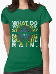 Nothing but the rain [mandala] Womens Fitted T-Shirt