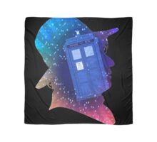 Tom Baker Fourth Doctor Silhouette  Scarf