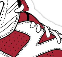 "Air Jordan VII (6) ""Carmine"" Sticker"