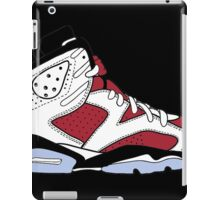 "Air Jordan VII (6) ""Carmine"" iPad Case/Skin"