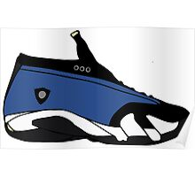 "Air Jordan XIIII (14) Low ""Laney"" Poster"