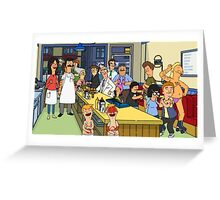 Bobs Burgers Greeting Card