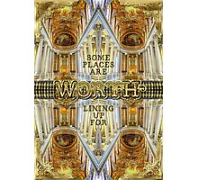 Worth Lining Up For Versailles Palace Chapel Paris Photographic Print