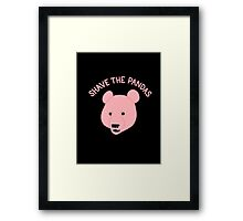 Shave the Pandas Framed Print