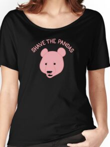 Shave the Pandas Women's Relaxed Fit T-Shirt